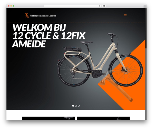 WordPress theme Betheme - 12cycle.nl