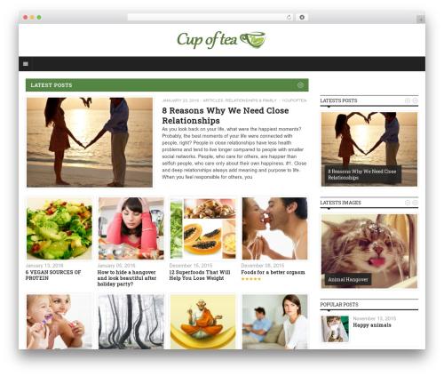 Yaaburnee Premium Theme WordPress theme - 1cupoftea.com
