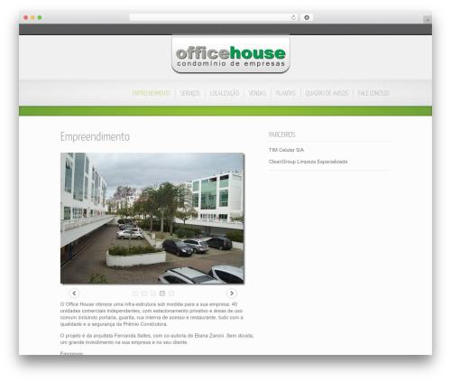 Best WordPress theme Inspire - officehouse.com.br