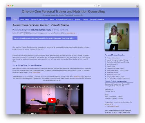 Coller WordPress theme - 1-on-1fitnesstraining.com
