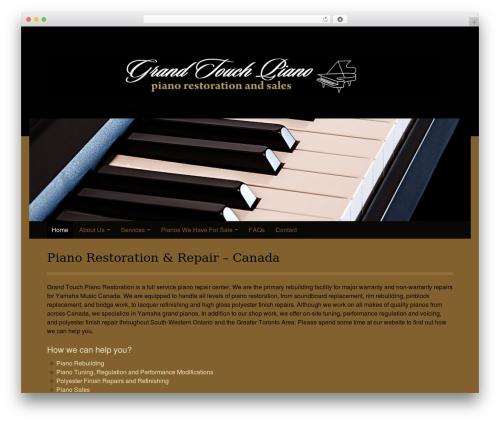 Kuorinka free website theme - grandtouchpiano.com