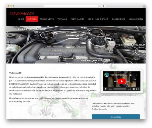 Thorium free website theme - glpzaragoza.com