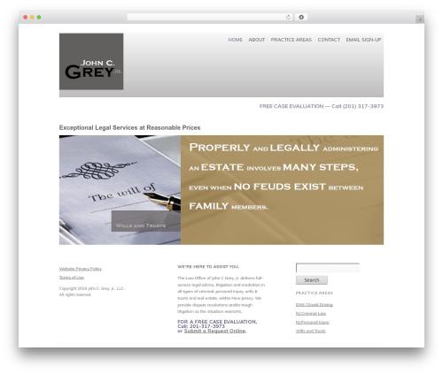 WordPress theme React PRO - greylawoffice.com