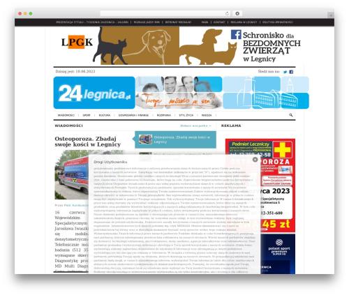 WordPress theme The Daily Press - 24legnica.pl