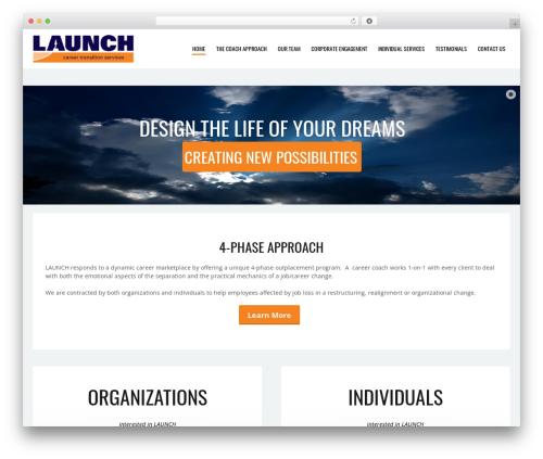 Simplissimo WordPress website template - 4321launch.com