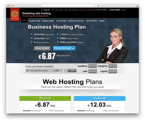 Theme WordPress Easy Flow - gamblingsitehosting.com