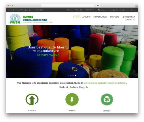Theme WordPress Flatsome - parveenwoollen.com