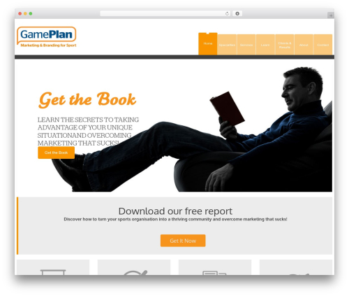 YellowProject Multipurpose Retina WP Theme WordPress gaming theme - game-plan-marketing.com