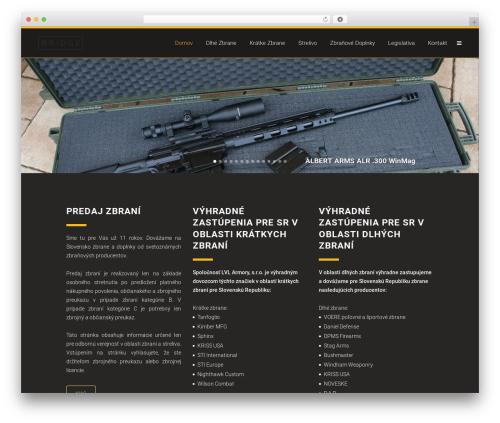 Bridge theme WordPress - zbrane.org