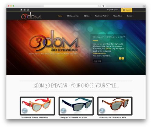 Emporium theme WordPress - 3dom3deyewear.com
