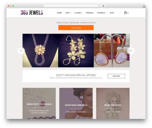 The Retailer WordPress theme - 365jewels.com