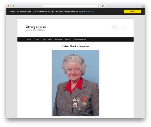 Twenty Eleven WordPress template free - zmagoslava.org