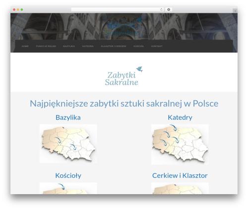 WordPress theme Credo - zabytkisakralne.pl