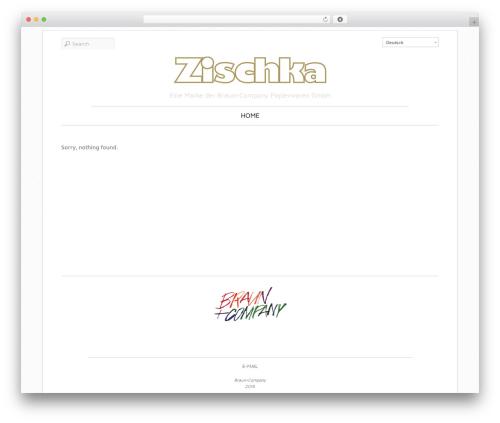 Elemin premium WordPress theme - zischka-amberg.de