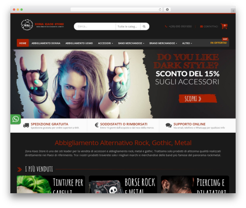 Porto best WordPress theme - zonakaosstore.com