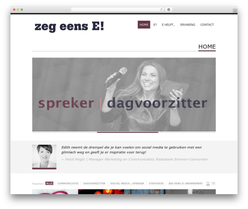 Tesla free WordPress theme - zegeense.nl
