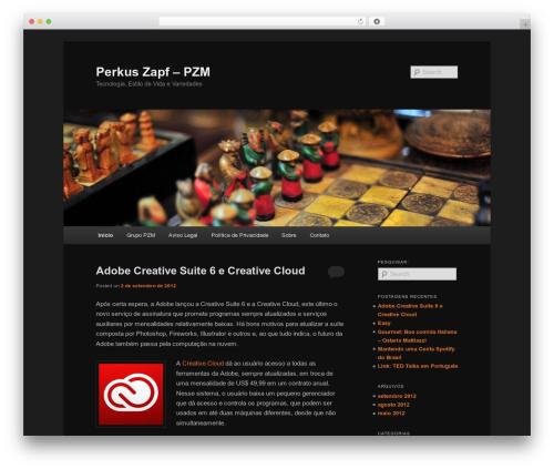 Twenty Eleven WordPress template free download - zapf.com.br