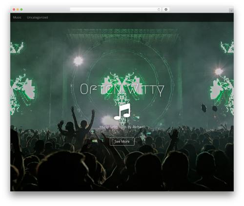 Arcade Basic WordPress page template - oftenwitty.com
