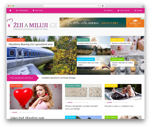 Best WordPress template Codilight - zijiamiluji.cz