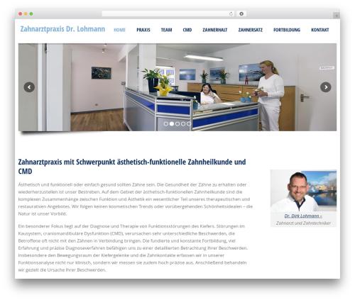 Doctor+ WordPress theme - zahnarzt-lohmann-dorsten.de