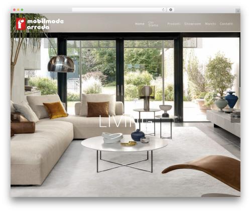 Salient WP theme - mobilmodearreda.com