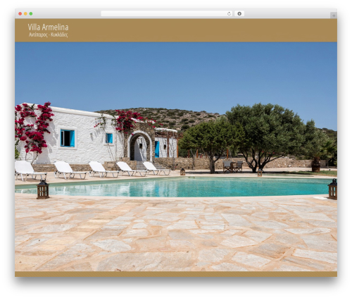 Template WordPress Betheme - villa-armelina.com