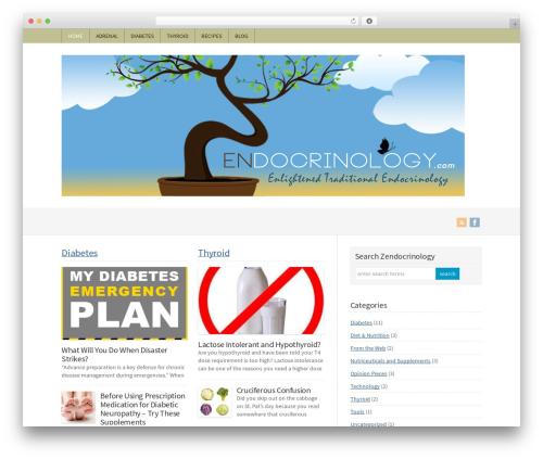 Theme WordPress WP-Brilliance - zendocrinology.com