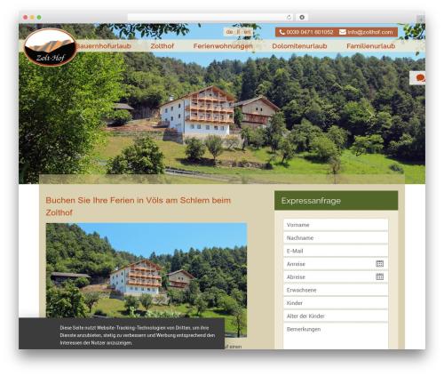 Zolthof WordPress theme - zolthof.com