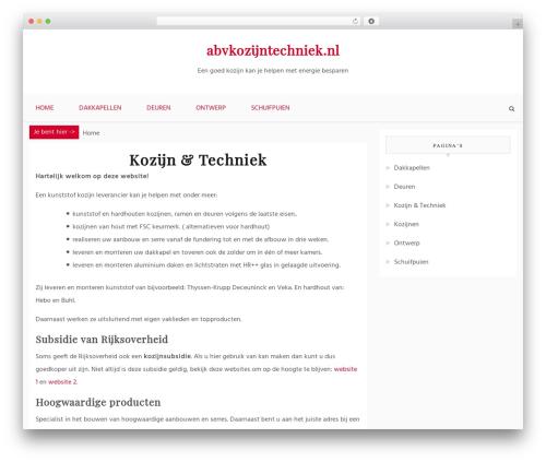 Blog Path WP template - abvkozijntechniek.nl