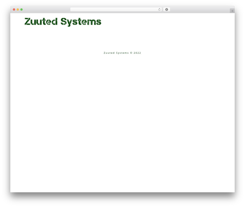 Minus premium WordPress theme - zuuted.com