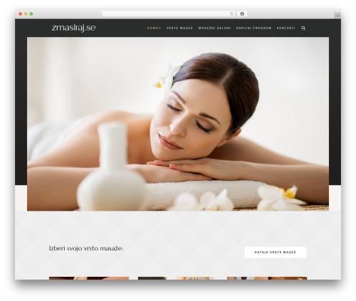 Best WordPress template Luxury Spa - zmasiraj.se