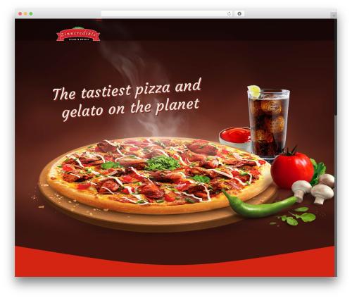 Betheme WordPress pizza theme - zinncredible.com