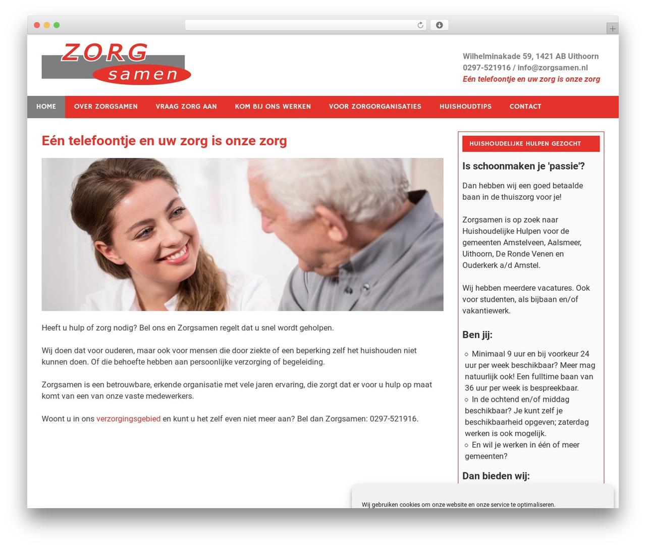 Merlin free website theme - zorgsamen.nl