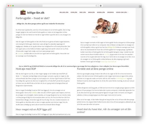 The Retailer best WordPress template - xn--billige-ln-95a.dk
