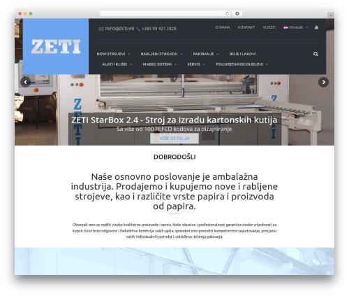 TheBuilt WordPress theme - zeti.hr