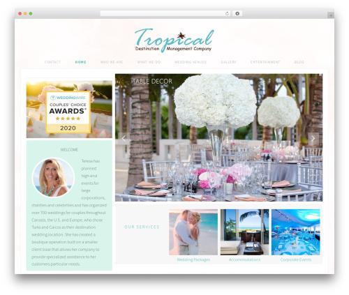 Adorn Theme WordPress theme - tropicaldmc.com