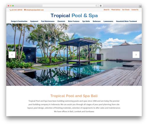 WordPress uber-grid plugin - tropicalpoolbali.com