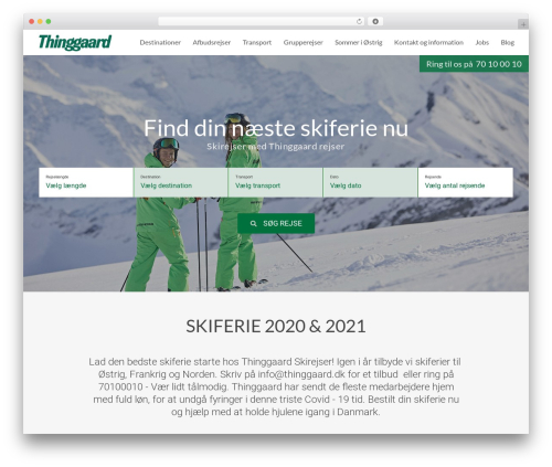 Education Pro Theme WordPress theme - thinggaard.dk