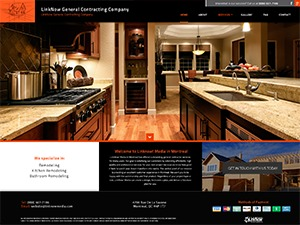 General Contractor 6 WordPress page template