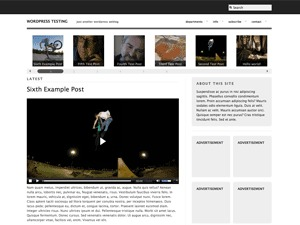 High Def WordPress theme