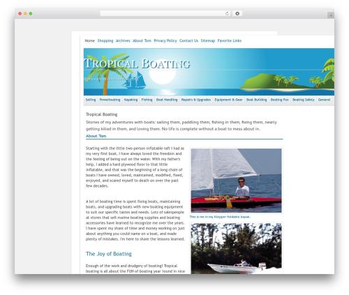 Free WordPress Organize Series plugin - tropicalboating.com