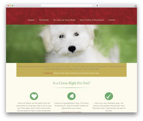 Lounge theme WordPress - floridacotons.com
