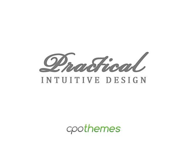 practical WordPress template