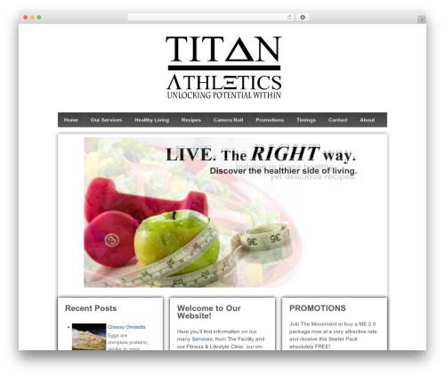 Free WordPress Tippy plugin - titan-athletics.com