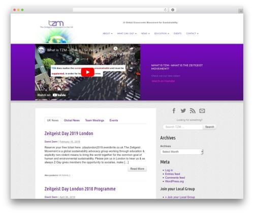 _s WordPress theme - thezeitgeistmovementuk.com