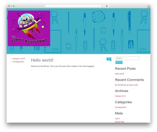 Theme WordPress Swiss - thezippyassistant.com
