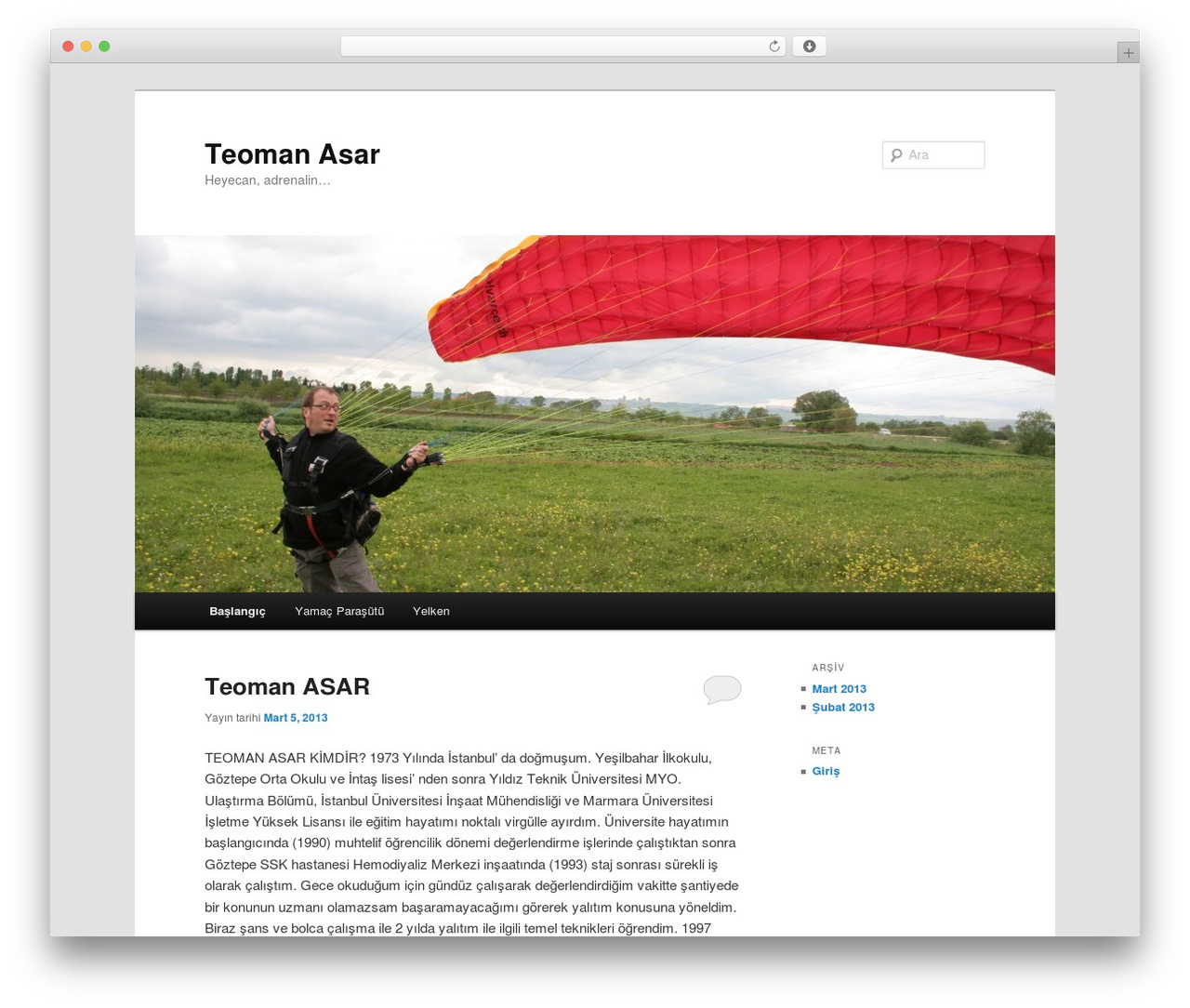 Twenty Eleven WordPress theme download - teomanasar.com