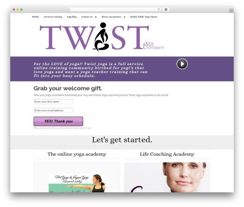 WordPress membership-simplified-for-oap-members-only plugin - twistyoga.com