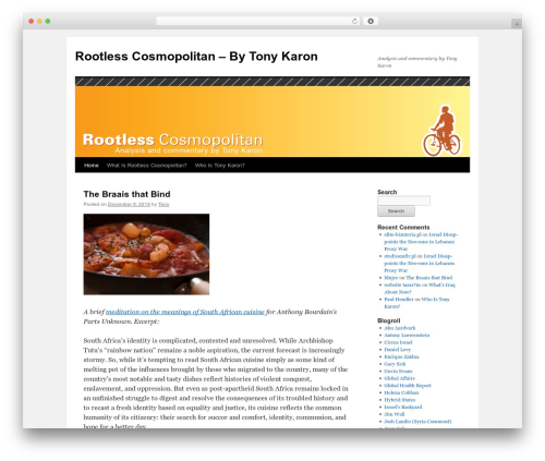 Twenty Ten WordPress template free download - tonykaron.com