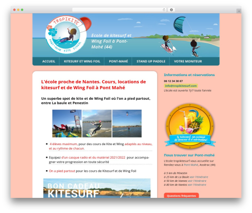 Twenty Thirteen Child WordPress theme - tropikitesurf.com